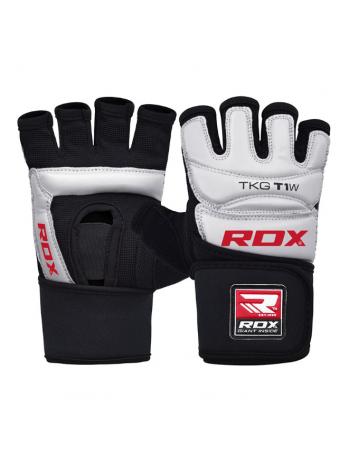 Перчатки для тхэквондо RDX WTF TKD белые
