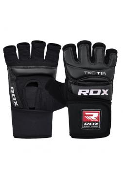 Перчатки для тхэквондо RDX WTF TKD черные