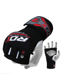 Бинты перчатки ММА RDX NEOPRENE GEL красные