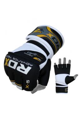 Перчатки ММА RDX NEOPRENE POWER FIGHTER желтые