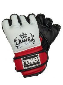 Перчатки для ММА Top King белые