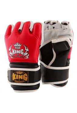 Перчатки для ММА Top King красные