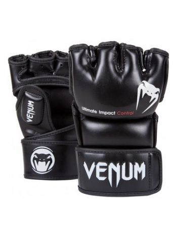 Перчатки MMA Venum Impact черные