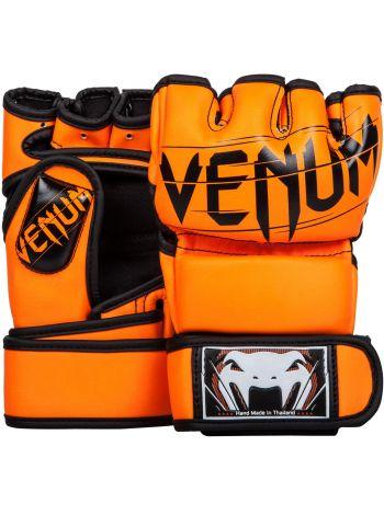 Перчатки MMA Venum Undisputed 2.0 Semi Leather оранжевые