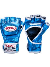 Перчатки MMA Yokkao Blue Army