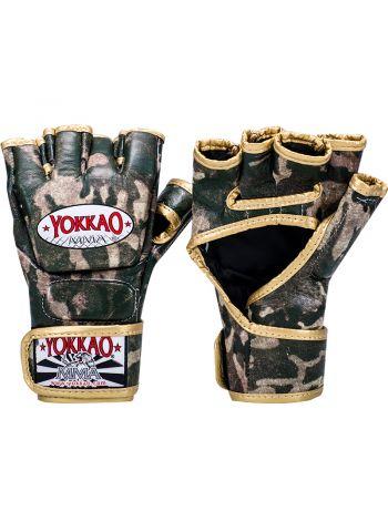 Перчатки MMA Yokkao Green Army