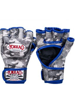 Перчатки MMA Yokkao Grey Army
