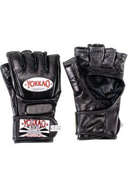 Перчатки MMA Yokkao черные