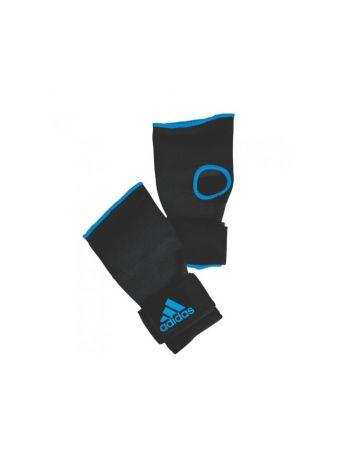 Перчатки бинты Adidas Super Inner Gloves Gel Knuckle черно-синие