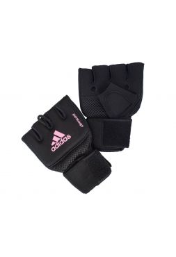 Перчатки бинты Adidas Quick Wrap Glove Mexican черно-розовые