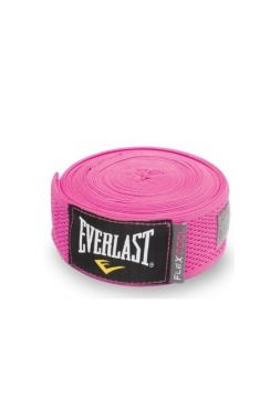 Бинты для бокса Everlast Breathable 4.55 м розовые