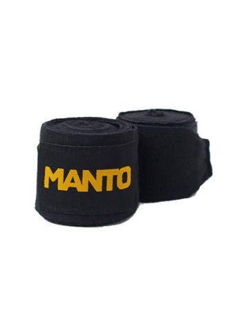 Боксерские бинты MANTO BASICO черные