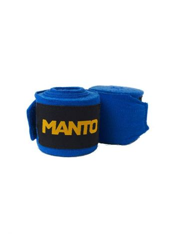 Боксерские бинты MANTO BASICO синие