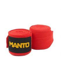 Боксерские бинты MANTO BASICO красные