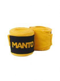 Боксерские бинты MANTO BASICO желтые