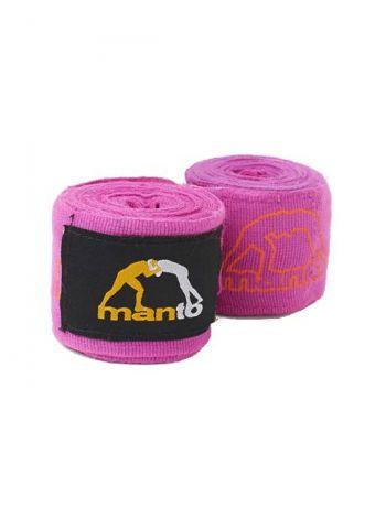 Боксерские бинты MANTO COMBO розовые