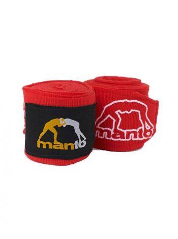 Боксерские бинты MANTO COMBO красные