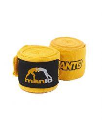 Боксерские бинты MANTO COMBO желтые