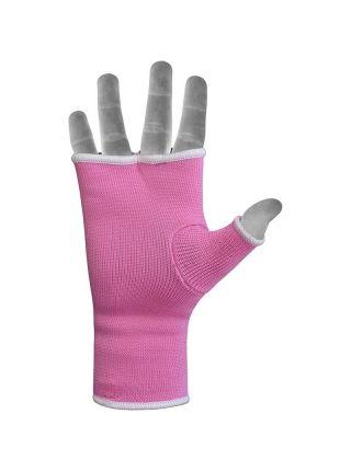 Перчатки бинты RDX Ladies Inner Gloves Training розовые