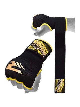 Перчатки бинты RDX Training Wrist Strap черные
