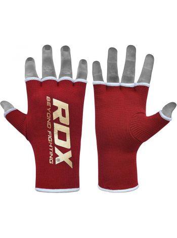 Перчатки бинты RDX Training Hand wraps красные