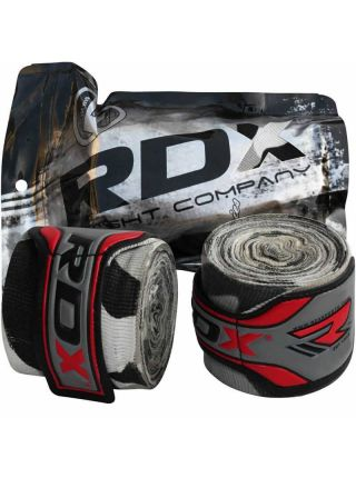 Бинты для бокса RDX Hand Wraps Fist Inner белые