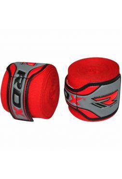 Боксерские бинты RDX Fist Inner Gloves красные