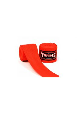 Боксерские бинты TWINS CH-1 красные