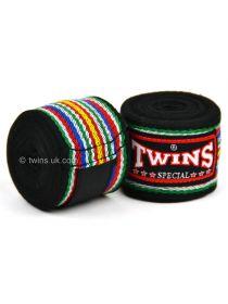Боксерские бинты Twins CH-2 черные