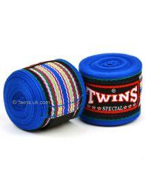Боксерские бинты Twins CH-2 синие