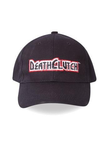 Кепка черная Death Clutch Logo