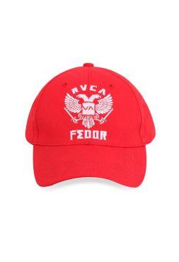 Кепка красная RVCA Fedor