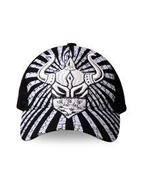Кепка черно-белая Warrior International Bandito