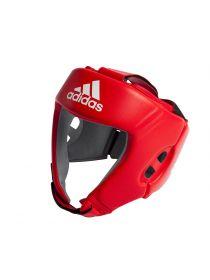 Боксерский шлем Adidas AIBA красный