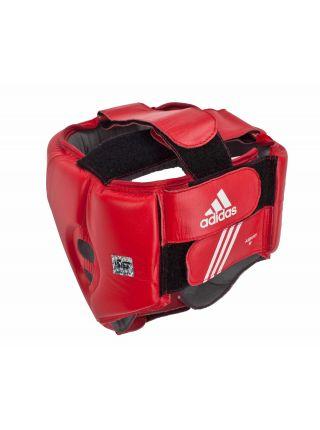 Боксерский шлем Adidas Pro Sparring Headguard черно-красный
