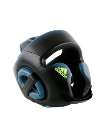 Боксерский шлем Adidas Speed Head Guard черно-синий