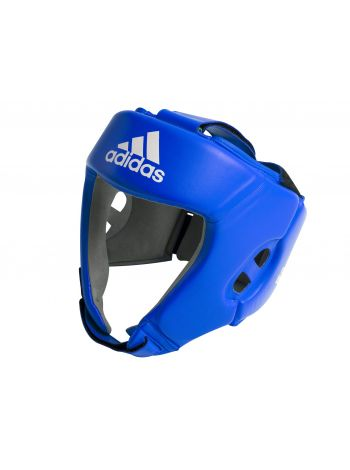 Боксерский шлем Adidas AIBA синий