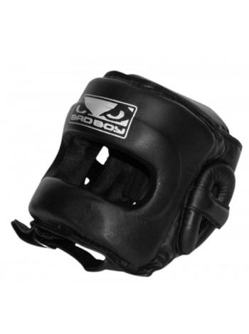Боксерский шлем BAD BOY PRO SERIES 2.0 FACE SAVER черный