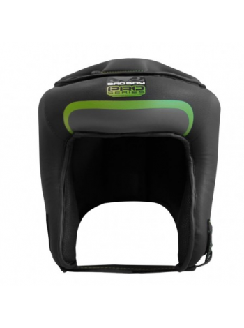 Боксерский шлем BAD BOY PRO SERIES 3.0 OPEN черно-зеленый