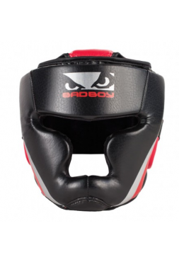 Боксерский шлем BAD BOY TRAINING SERIES 2.0 черно-красный