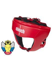 Боксерский шлем Clinch Olimp красный