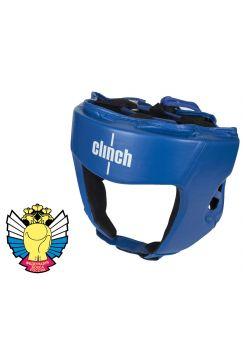 Боксерский шлем Clinch Olimp синий
