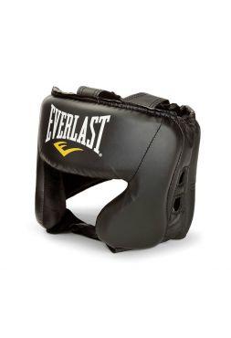 Шлем боксерский Everlast Everfresh Headgear черный
