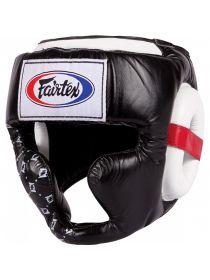 Боксерский шлем Fairtex HG10 черный
