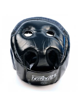 Боксерский шлем Fairtex HG13 синий