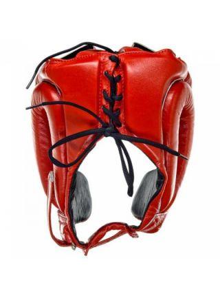 Боксерский шлем Fairtex HG8 красный