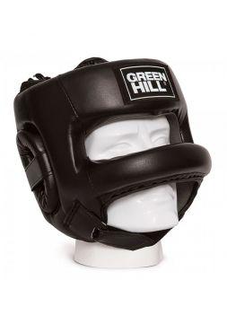 Боксерский шлем GREEN HILL HEAD GUARD CASTLE черный
