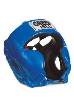 Боксерский шлем Green Hill HEAD GUARD CLUB синий