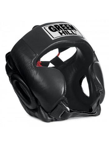 Боксерский шлем Green Hill HEAD GUARD CLUB черный