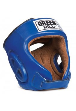 Боксерский шлем Green Hill HEAD GUARD FIVE STAR синий